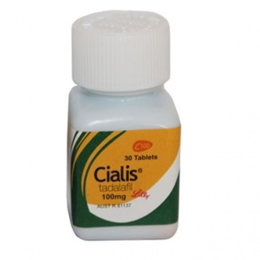 Cialis 100 mg Brand Lilly - bottle of 30 pills D