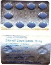 Viagra générique (Sildenafil Citrate) MALEGRA 50 mg