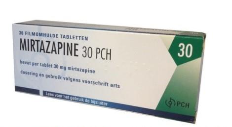 Mirtazapine 30mg by PCH N