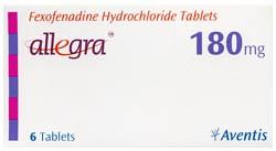Generic Allegra 180 mg