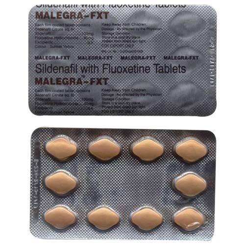 Malegra FXT (Sildenafil + Fluoxetin) 100/40 mg