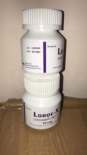 Lorcaserin HCl Lorqe X 10mg