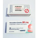Oxycodon 80 mg by Sandoz