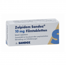 Zolpidem 10mg by Sandoz