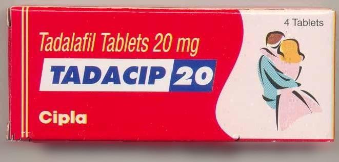 Tadacip (Cialis genérico) 20 mg