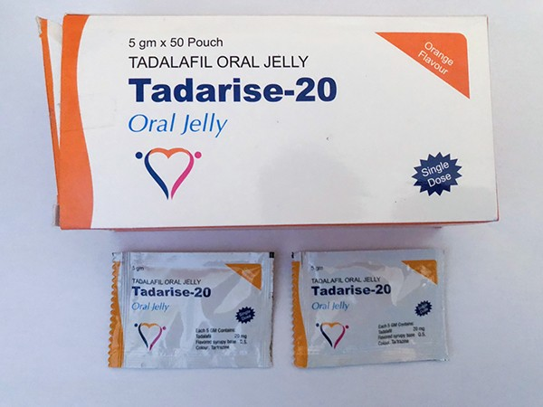 Tadalafil 20 mg - tira de jalea (disolución oral)