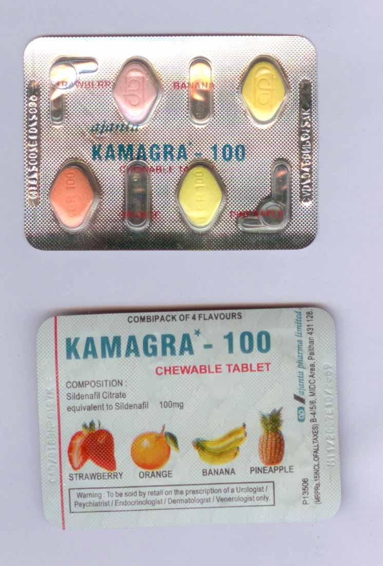 Kamagra (Generic Viagra) Chewable 100 mg