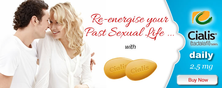 cialis tadalafil daily 2.5mg for treating disfunction erectile